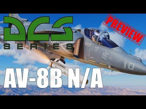 DCS: AV-8B - Preview #2 - Takeoff-Arten, Sensormanagement und Feldwege [Deutsch|HD+]