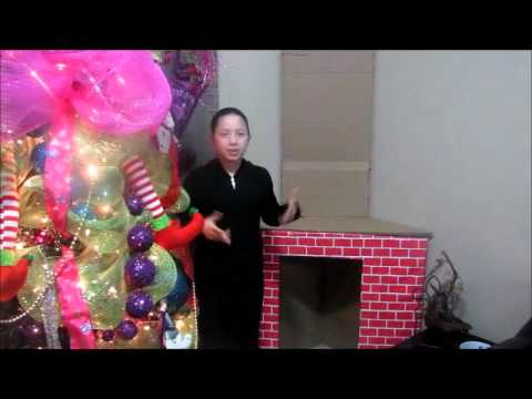 Ideas de decoracion para navidad chimenea youtube - Chimenea de decoracion ...