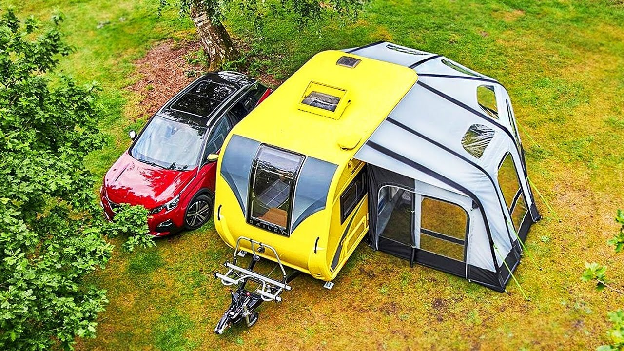 Download Erstaunliche Camping-Anhänger eines anderen Levels