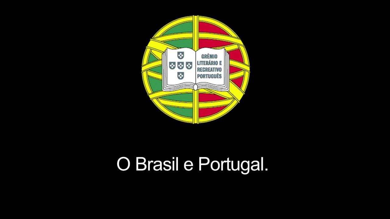 Hino Grêmio Literário e Recreativo Português - YouTube 4fdb66aca5968