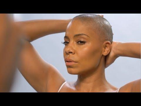 "Sanaa Lathan ""Bald and Beautiful"""