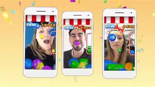 Candy Crush Saga - Facebook Camera Effect!