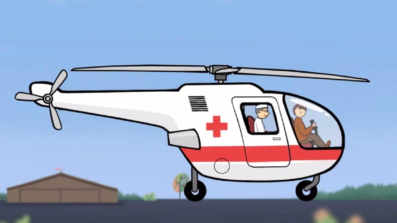 Большая сборка - Для самых маленьких - Вертолет - YouTube
