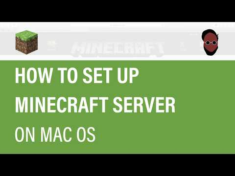 How To SET UP MINECRAFT SERVER On Mac OS
