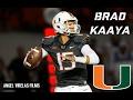 Brad Kaaya Miami Highlights 2016-2017
