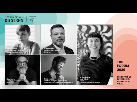 The Future of Everything / Design goes Viral – Downtown Design 2020 Talks Programme