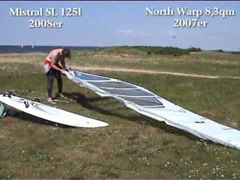 Windsurfen Dänemark Skaven Strand 2008