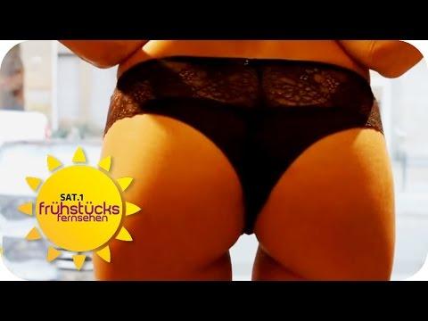 Sexy Wäsche-Blitzer   SAT.1 Frühstücksfernsehen