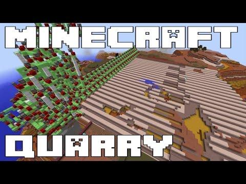 Survival Minecraft Quarry Project Insanity - Scicraft Server