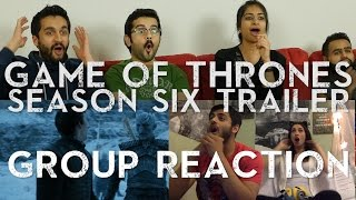 Game of Thrones Season 6 Trailer - Group Reaction!
