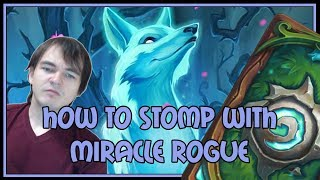 How to STOMP with miracle rogue | Miracle rogue | The Witchwood | Hearthstone