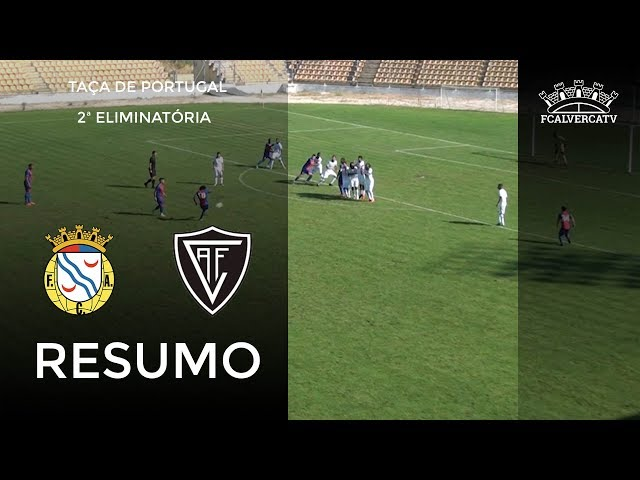 FC Alverca vs A Viseu - Resumo do jogo