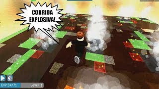 ROBLOX: THE EXPLOSIVE AND HURDLES RACE! (TNT Rush)