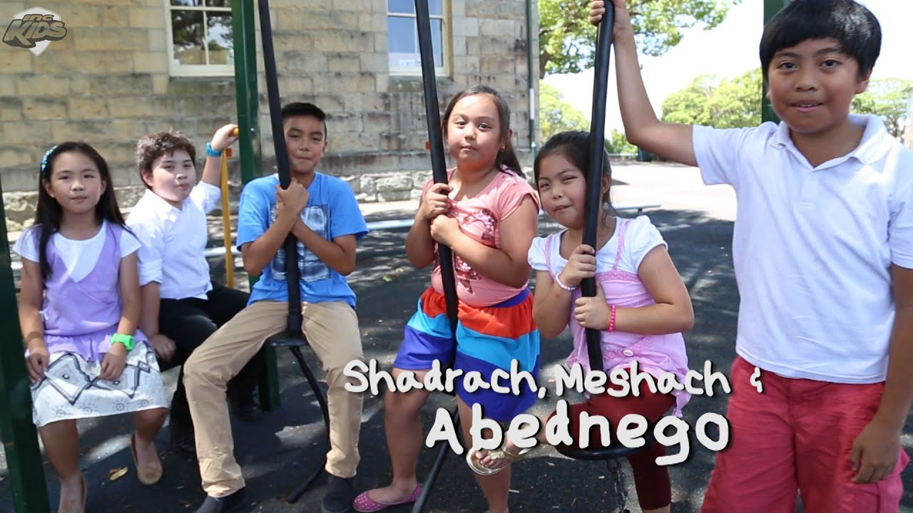 let u0027s sing along shadrach meshach and abednego youtube