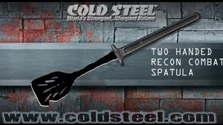 cold steel two handed recon combat spatula