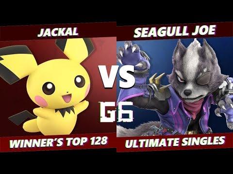 Glitch 6 SSBU - Jakal (Pichu) VS Demise | Seagull Joe (Wolf) Smash Ultimate Winner's Top 128