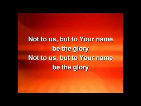 Not to Us - G3  (lyrics)