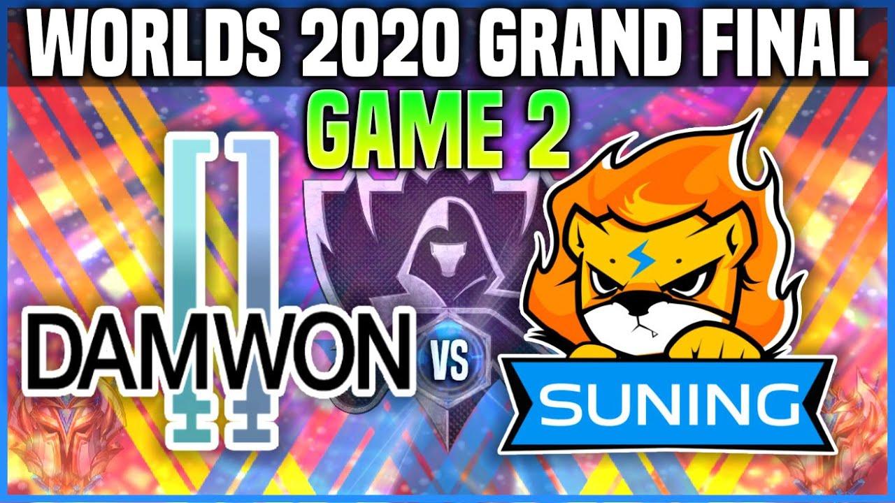 DWG vs SN Game 2 * PENTAKILL! * Worlds 2020 GRAND FINAL - DAMWON vs SUNING Game 2 Worlds 2020 FINAL