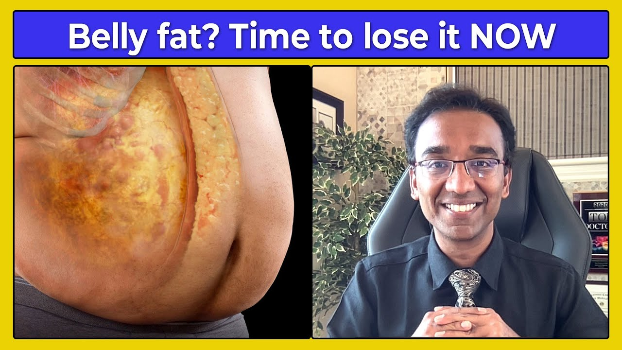 How to lose belly fat NATURALLY without complex dieting | DAWN - DUSK method to BURN fat