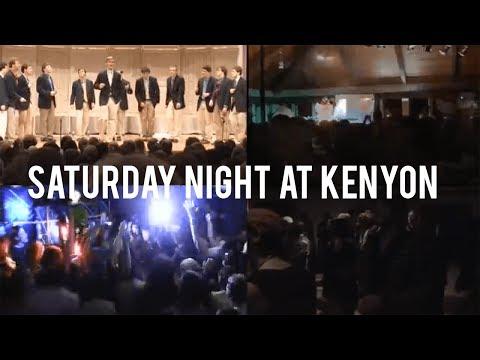 Saturday Night at Kenyon College