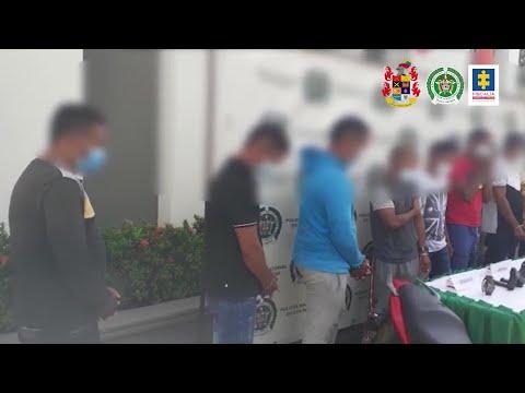 A La Cárcel 10 Presuntos Integrantes Del Clan Del Golfo - Teleantioquia Noticias