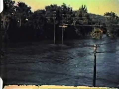 1950's Bethlehem, PA Post-Hurricane Flood (Lehigh River) Part 1