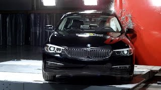 BMW 5 Series Crash Test Euro NCAP | Rating: ★★★★★