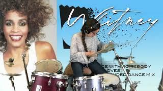 Download I Wanna Dance with Somebody - Whitney Houston - Drum Cover for my oldest sister! Mp3 and Videos