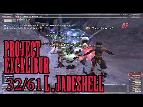 FFXI - Project Excalibur: 32/61 L. Jadeshell - 9/7/2016