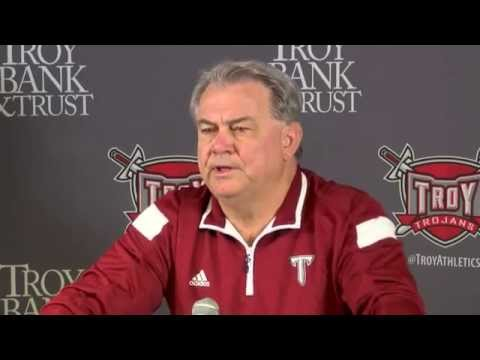 Larry Blakeney Announces His Retirement as Troy's Football Head Coach