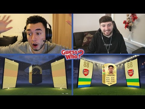 HARDEST GUESS EVER 😈 GUESS WHO FIFA vs Homelespenguin 🔥 GUESS WHO PACKS