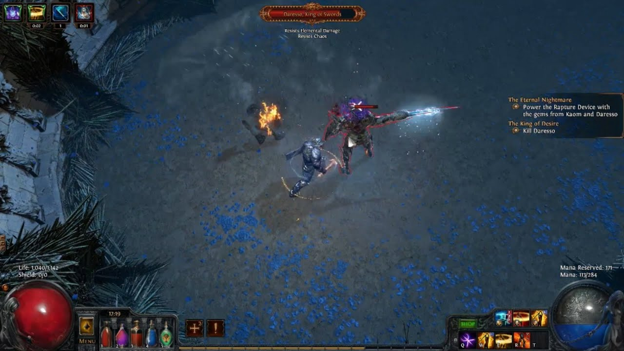 poe how to get from cruel to normal
