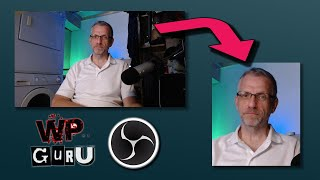 How to crop y๐ur webcam in OBS