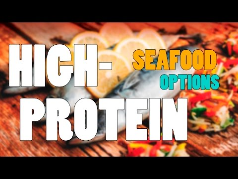 3 Novel High-Protein Seafood Options l Nutrition Tips for Building Muscle & Loosing Fat