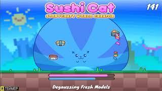 Игра Накорми Суши Кота Sushi Cat смотреть приключения игры на русском кот ест суши топ мультик игра
