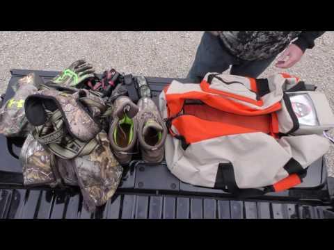 Ozone Gear Bag For Deer Hunters