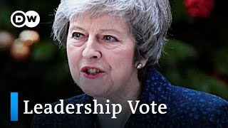 Theresa May announces to contest no-confidence vote | DW News