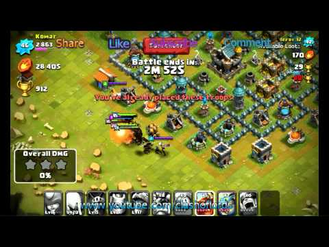 Clash Of Lords - Clash Of Lords Vs Castle Clash Lag Test