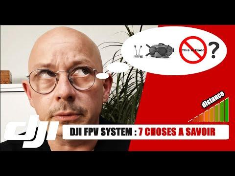 Фото ✔️ DJI FPV SYSTEM : 7 choses à savoir dont personne ne vous parle ! ????