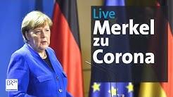 Merkel zu Corona-Maßnahmen: Schulbeginn ab 04. Mai | BR24