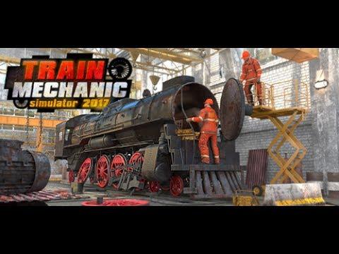 Train Mechanic Simulator 2017   Presentation Game  