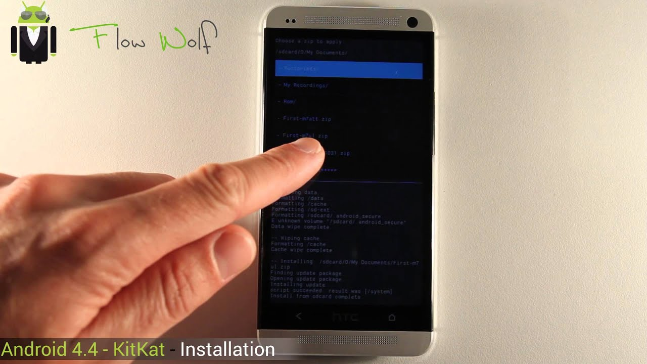 How to Install Android 4 4 - KitKat on your Android Device - Download Links