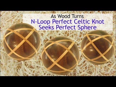 N-Loop Perfect Celtic Knot Seeks Perfect Sphere