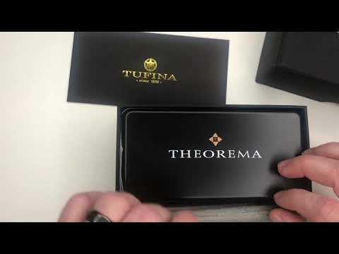 Unboxing Tufina Marco Polo Theorema - Watch Review