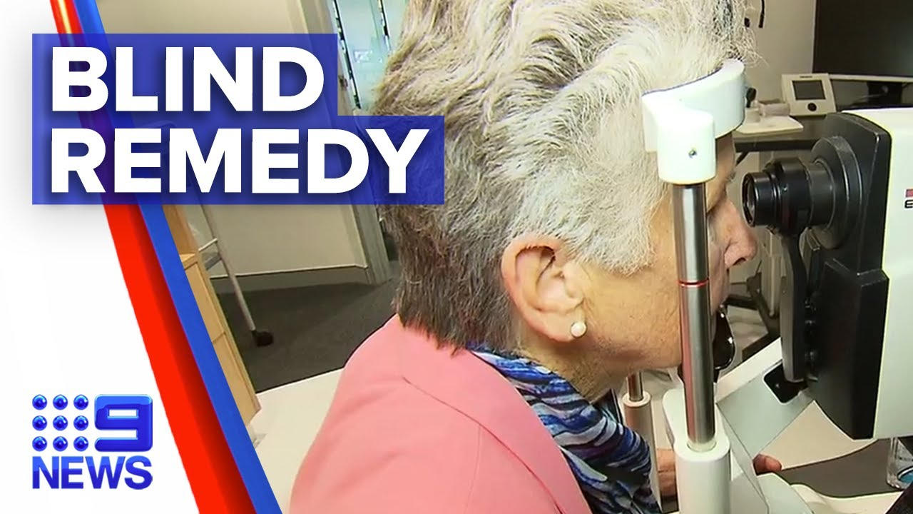 New treatment for blindness | 9 News Australia