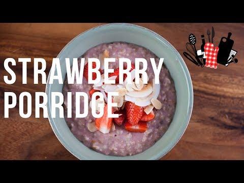 Strawberry Porridge | Everyday Gourmet S9 EP65