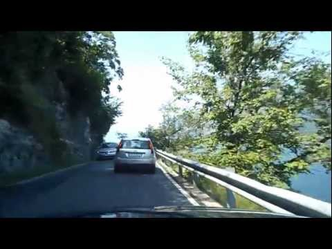 Como Lake Drive between Lecco - Bellagio (18-07-2012)