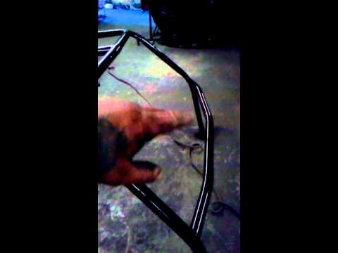 Building a bronco roll cage.  Part 2