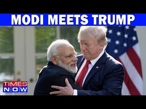 PM Modi - Donald Trump Promise Closer Ties In White House Meeting