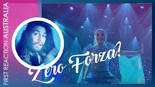 Latino Reacts to Australia [Kate Miller-Heidke - Zero Gravity] Eurovision 2019